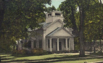 St. John's Episcopal Chapel - Manchester, Vermont VT Postcard