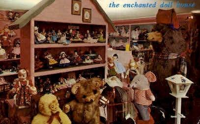 Enchanted Doll House - Fairfield, Vermont VT Postcard