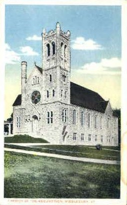 Church of the Assumption - Middlebury, Vermont VT Postcard