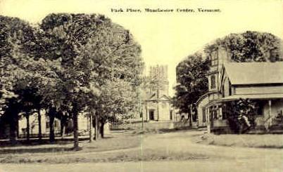 Park Place - Manchester, Vermont VT Postcard