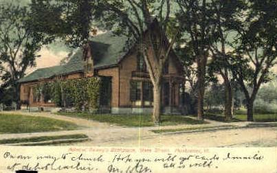 Admiral Dewey Birthplace - Montpelier, Vermont VT Postcard