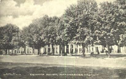 Equinox House - Manchester, Vermont VT Postcard