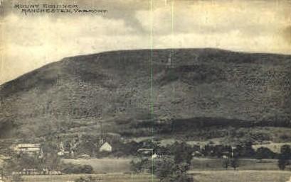 Mount Equinox - Manchester, Vermont VT Postcard
