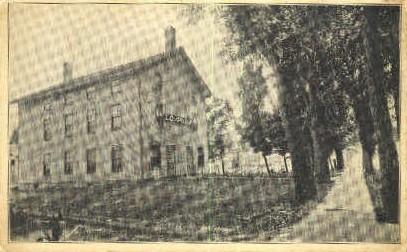 Milton Lodge - Misc, Vermont VT Postcard