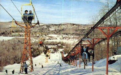 Mount Snow - Vermont VT Postcard