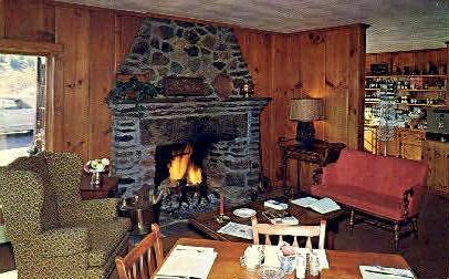 Skyline Restaurant - Marlboro, Vermont VT Postcard