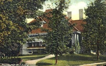 Library - Manchester, Vermont VT Postcard