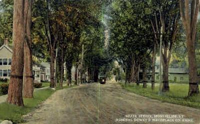 State Street - Montpelier, Vermont VT Postcard