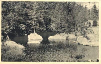 Lovers Retreat - Morrisville, Vermont VT Postcard