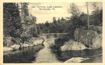 Lake lamoille - Morrisville, Vermont VT Postcard
