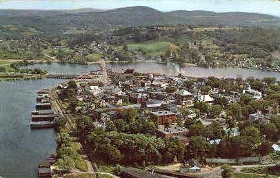 Newport - Vermont VT Postcard