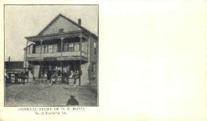 General Store - Thetford, Vermont VT Postcard