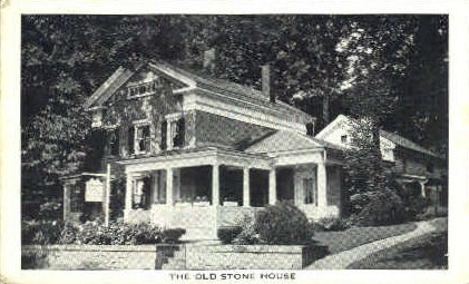 Old Stone House - Bennington, Vermont VT Postcard