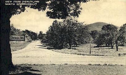 Overlea Inn - Bennington, Vermont VT Postcard