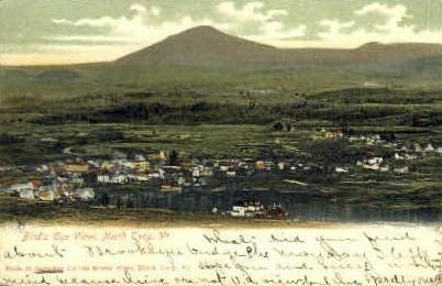 Troy - Vermont VT Postcard
