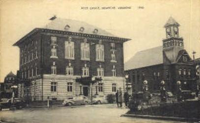 Post Office - Newport, Vermont VT Postcard