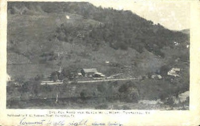 Chelsea Road - Turnbridge, Vermont VT Postcard