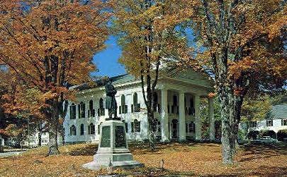 Windham County Hotel - Newfane, Vermont VT Postcard