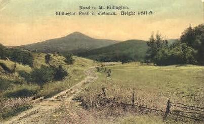 Mount Killington - Vermont VT Postcard