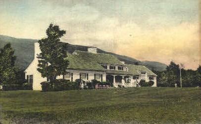 Ekwanok Golf Club - Manchester, Vermont VT Postcard
