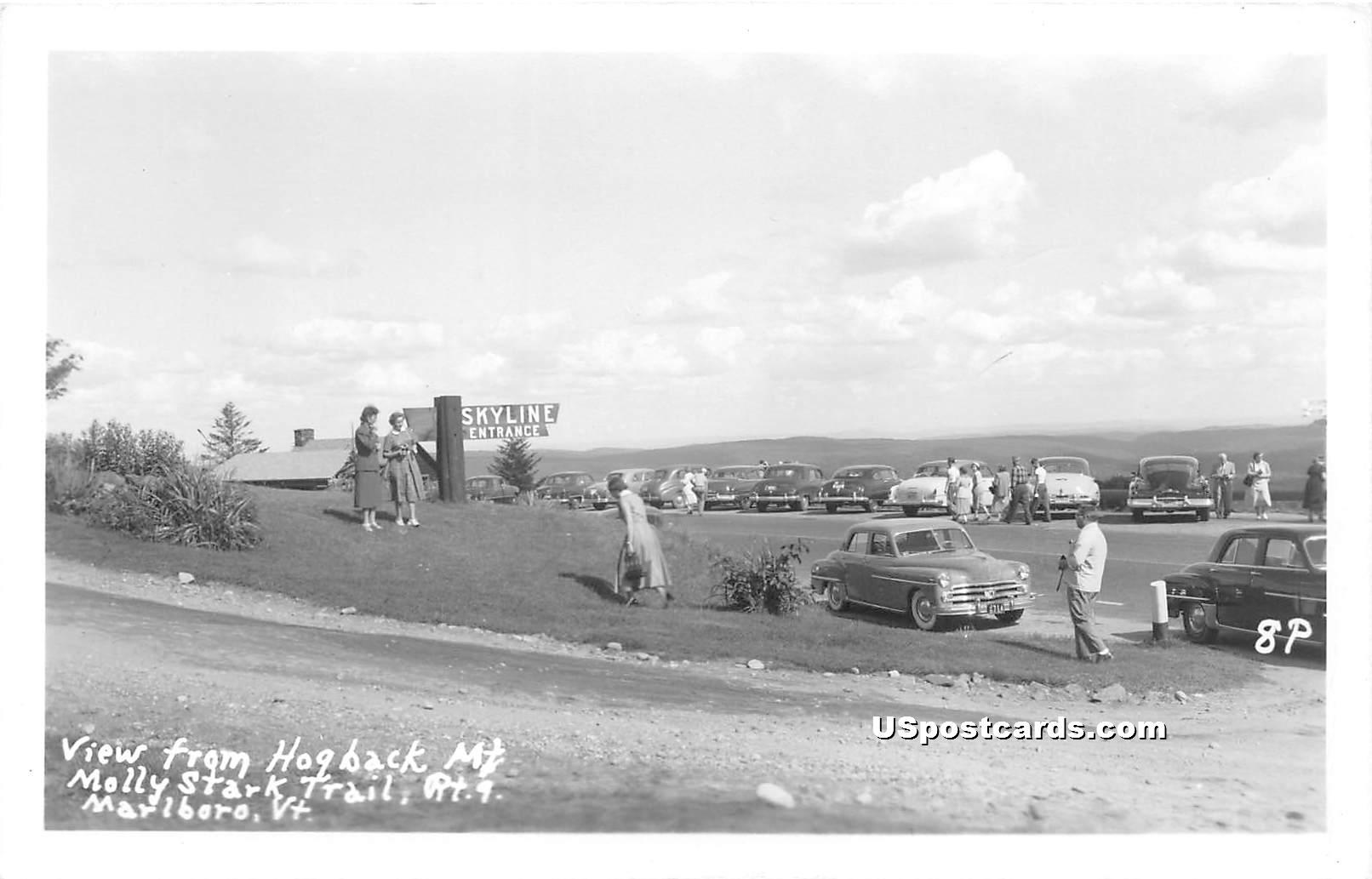 Hogback Mountain - Marlboro, Vermont VT Postcard