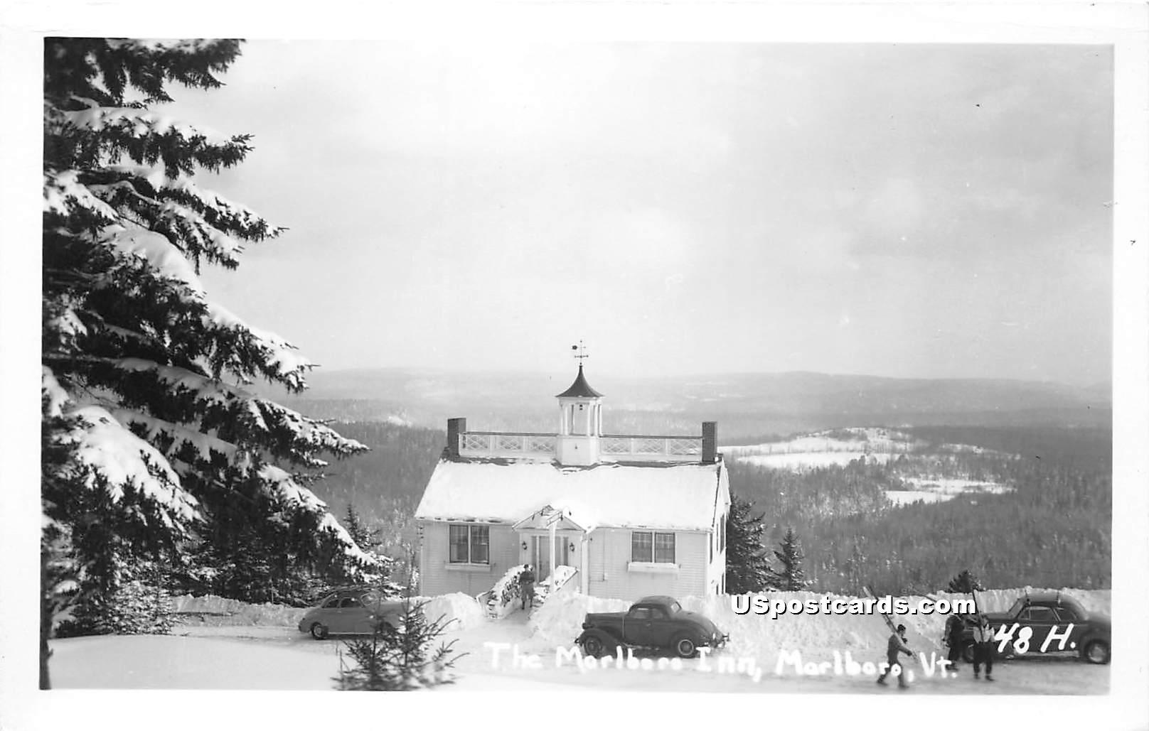 Marlboro Inn - Vermont VT Postcard