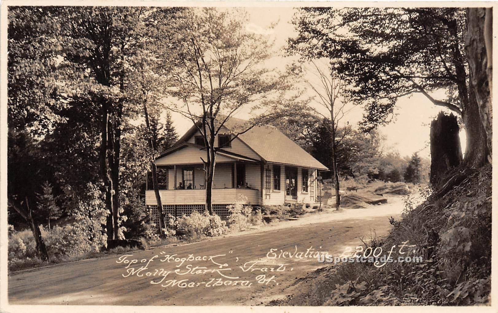 Top of Hogback - Marlboro, Vermont VT Postcard