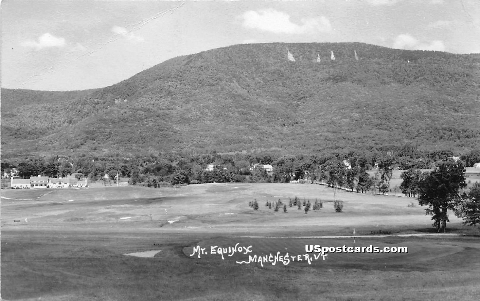 Mount Equinox - Mancheseter, Vermont VT Postcard