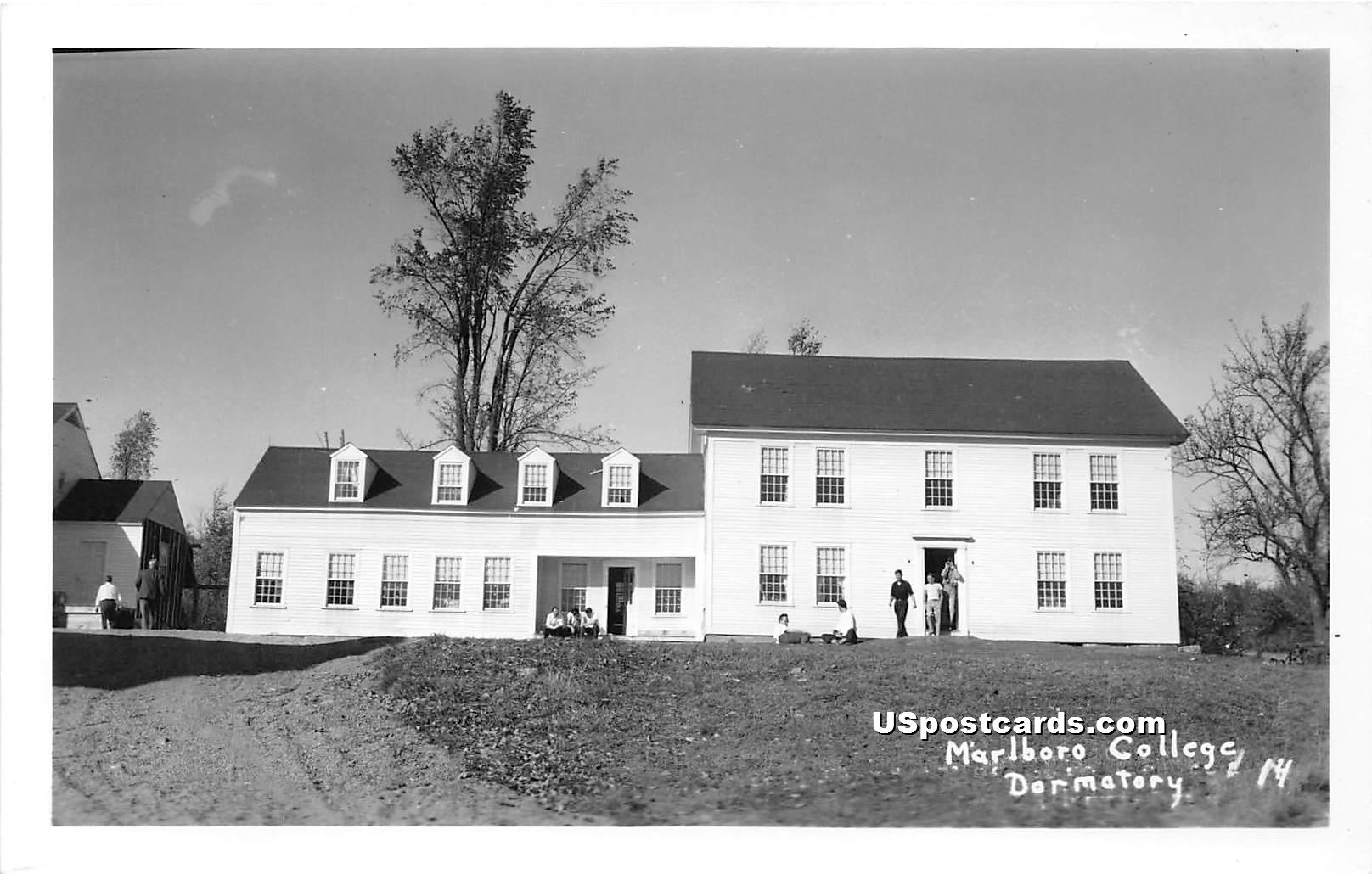Marlboro College - Vermont VT Postcard