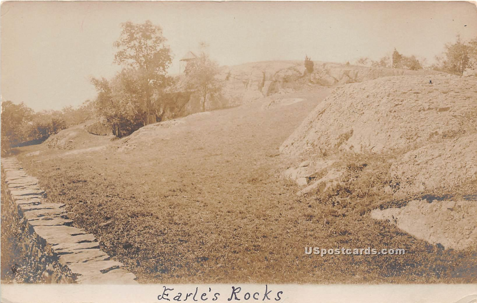 Earle's Rocks - Misc, Vermont VT Postcard