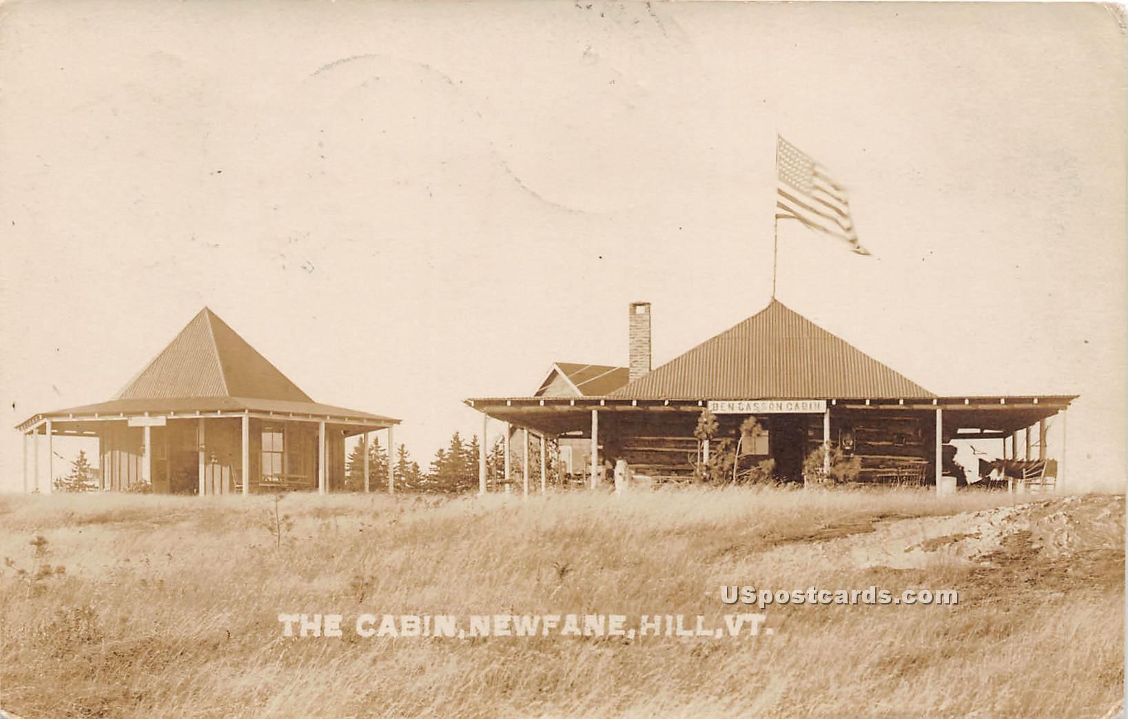 Cabin - Newfane, Vermont VT Postcard