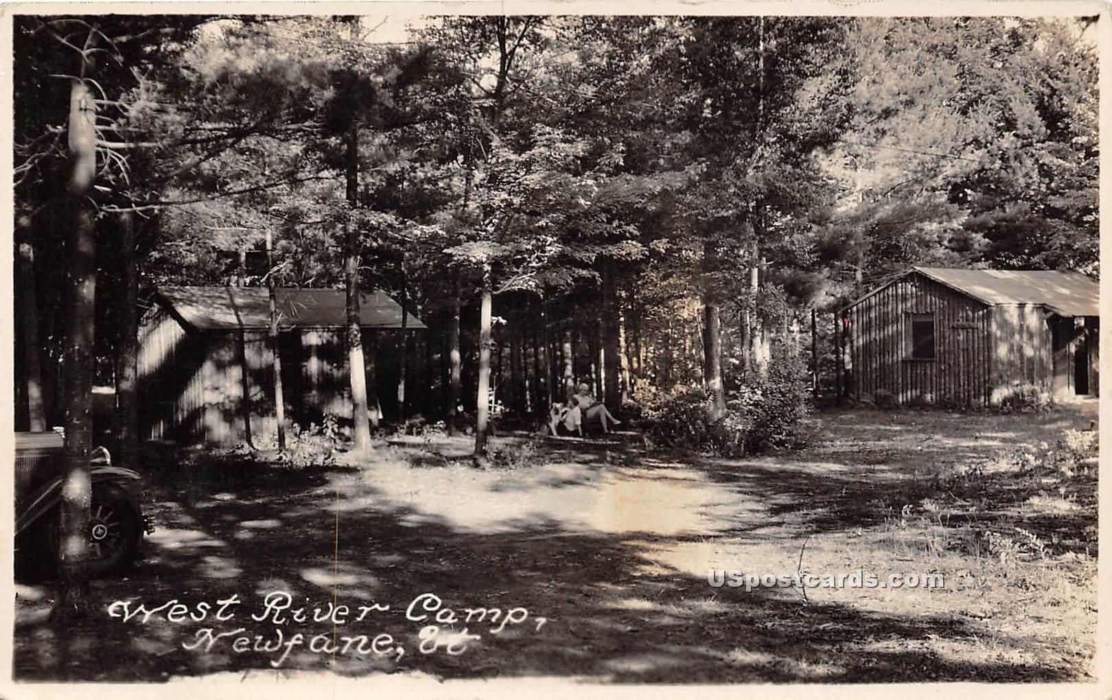 West - Newfane, Vermont VT Postcard