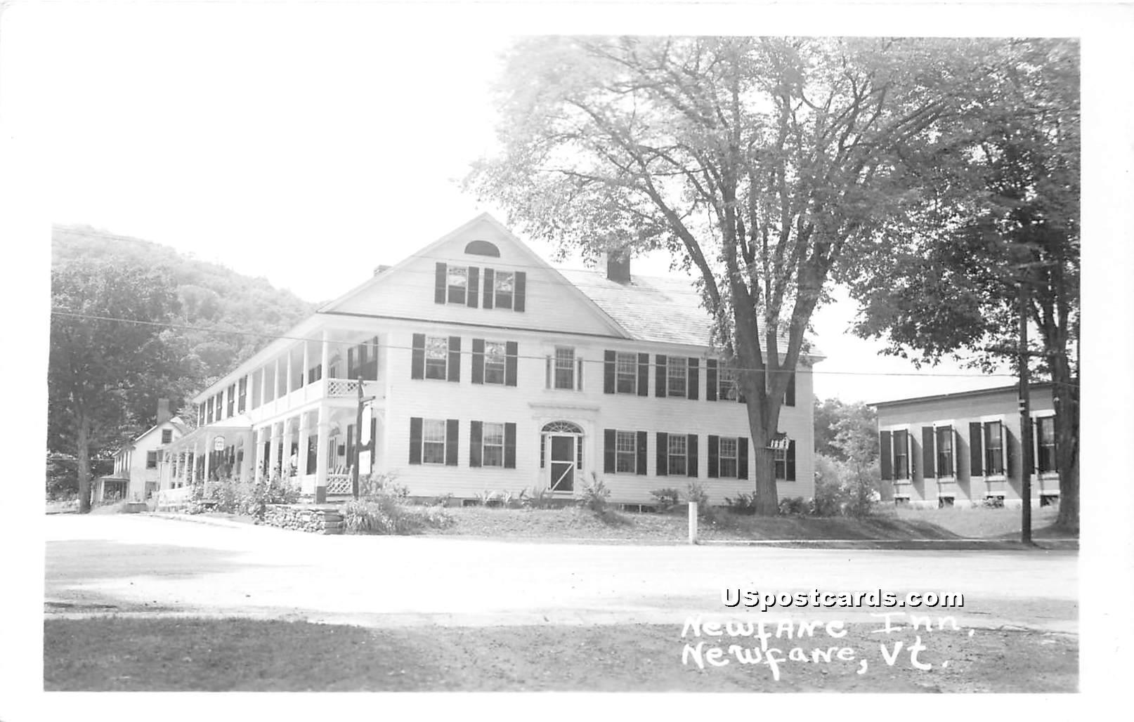 Newfane Inn - Vermont VT Postcard