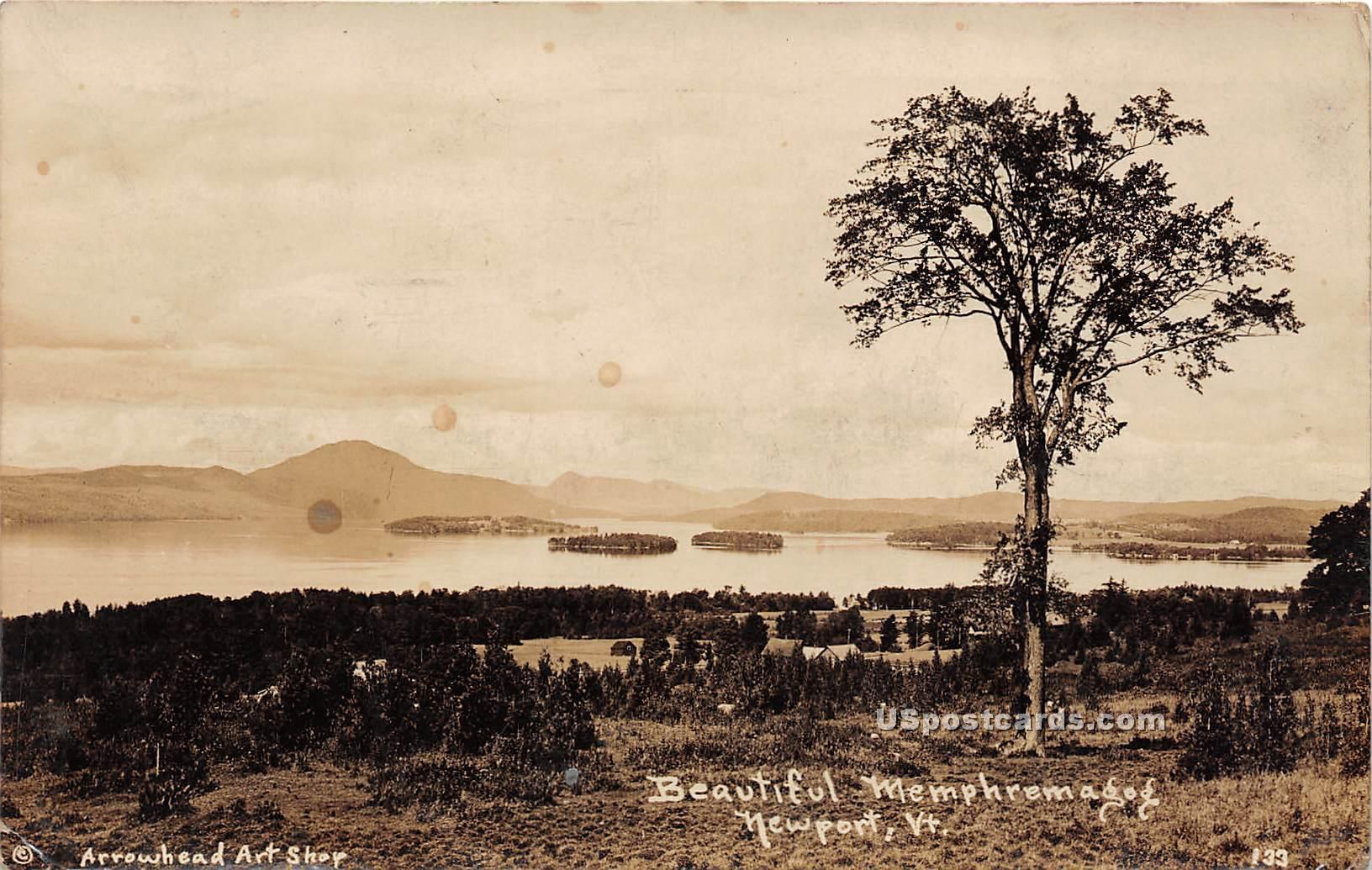Memphremagog - Newport, Vermont VT Postcard