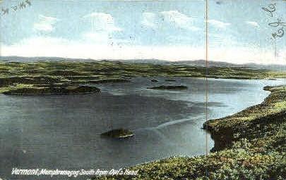 Memphramagog - Owls Head, Vermont VT Postcard