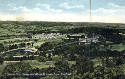 Connecticut Valley - Olcott, Vermont VT Postcard