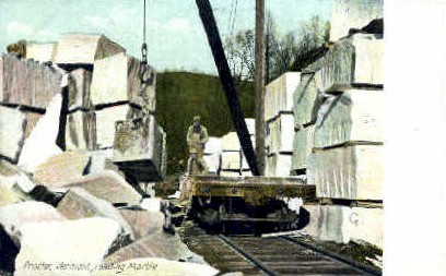 Loading Marble - Proctor, Vermont VT Postcard