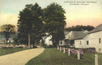 Coolidge Homestead - Plymouth, Vermont VT Postcard