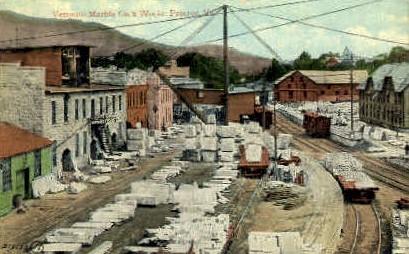 Vermont Marble Company - Proctor Postcard