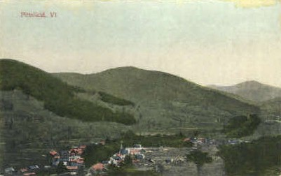 Pittsfield - Vermont VT Postcard