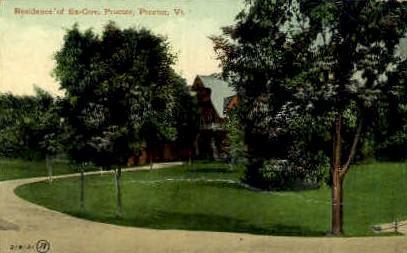 Residence of Ex-Gov - Proctor, Vermont VT Postcard