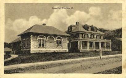 Hospital  - Proctor, Vermont VT Postcard