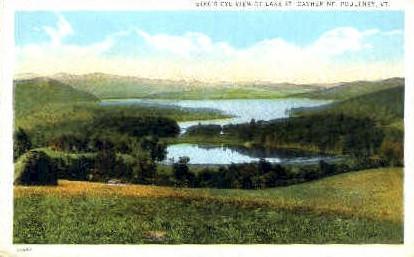 Lake St. Catherine - Poultney, Vermont VT Postcard