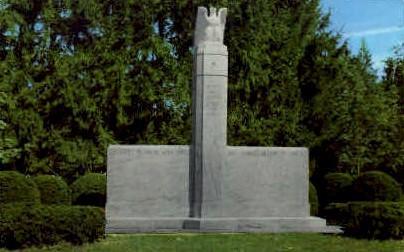 Proctor War Memorial - Vermont VT Postcard