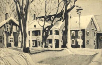 Green Mountain Inn - Stowe, Vermont VT Postcard