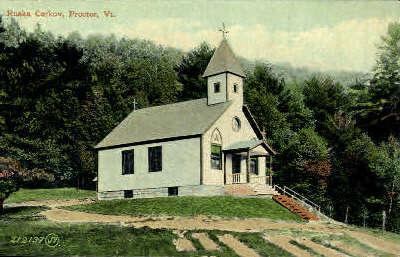 Ruska Cercov - Proctor, Vermont VT Postcard