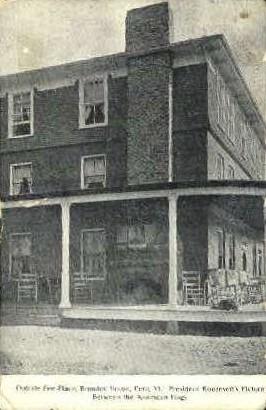 Bromley House - Peru, Vermont VT Postcard