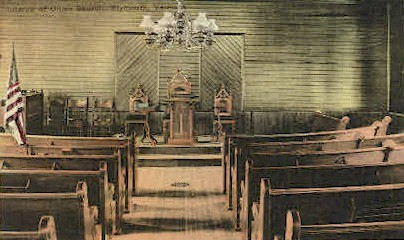 Union Church - Plymouth, Vermont VT Postcard