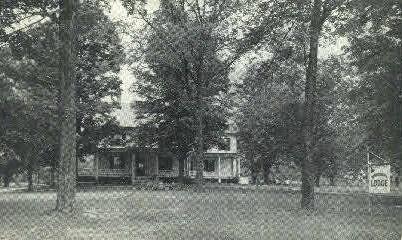 Burroughs Lodge - Pittsford, Vermont VT Postcard