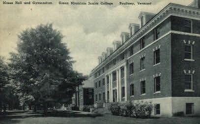 Green Mountain Junior College - Poultney, Vermont VT Postcard